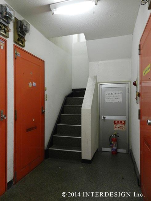 ●7、1階廊下現状